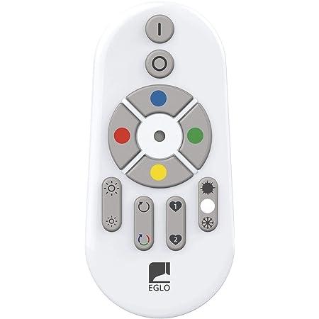EGLO CONNECT Télécommande Smart Home pour les lumières EGLO CONNECT, accessoire Bluetooth à piles, matériau : plastique, couleur : blanc