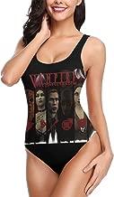 FUCC5EG Vampire The Masquerade - Bloodlines-1 Women's One Piece U Neck Backness Swimsuits Bathing Suit Swimwear Beachwear