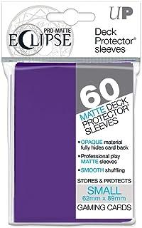 Ultra Pro 85832 Eclipse Small Pro Matte (60 Pack), Royal Purple