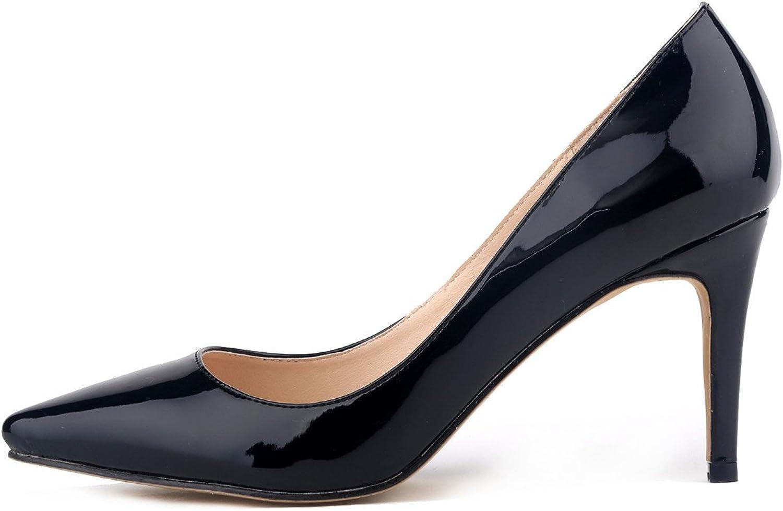 SAMSAY Women's Pointy Toe High Heels Pumps Dress shoes