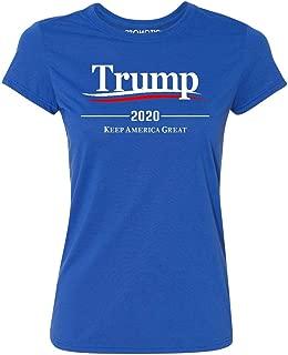 Trump 2020 Keep America Great Wavy Women's T-Shirt