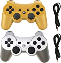 $25 » Sponsored Ad - Molgegk Wireless Controllers Replacement For PS3 Controller, Compatible with Play-Station 3 Console, Upgrad...