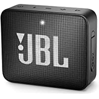 JBL GO2 Waterproof Ultra-Portable Bluetooth Speaker (Black)