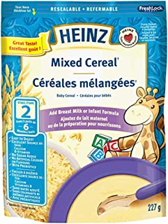 Heinz Mixed Cereal - No Milk, 227g (Pack of 6)