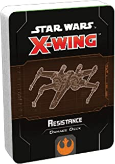 Fantasy Flight Games FFGSWZ75 Star Wars X-Wing 2nd Edition Resistance Damage Deck