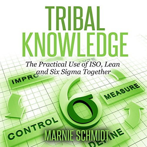 Tribal Knowledge - The Practical Use of ISO, Lean and Six Sigma Together audiobook cover art