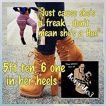 5ft Ten 6 One in Her Heels
