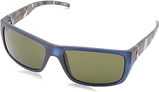 Electric California Sixer Rectangular Sunglasses, Blue Jungle, 164 mm