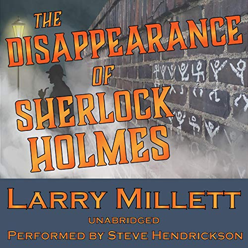 The Disappearance of Sherlock Holmes audiobook cover art