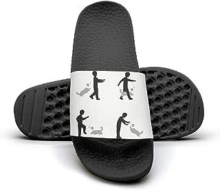 Daily Slipper Sandals My Best Friend is A Belgian Malinois Unisex Anti-Slip Slide Shoes