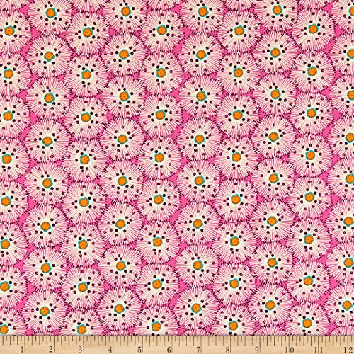 Andover/Makower UK Reef Urchin Pink Fabric by the Yard
