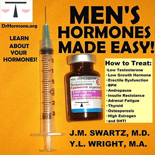 Men's Hormones Made Easy audiobook cover art