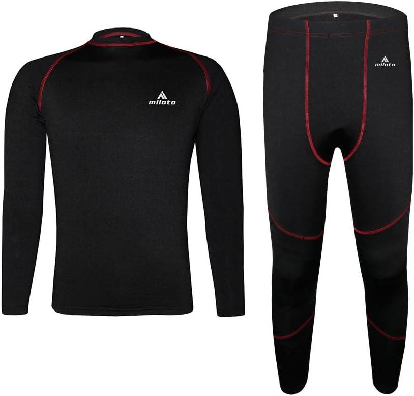 Uriah Unisex Thermal Underwear Sets Long Sleeve