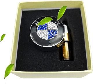 VILLSION Car Logo Air Freshener Vent Clip Fragrance Scent Perfume Freshener Fit for BMW with Gift Box