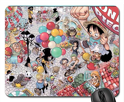 One Piece Mouse Pad, Mousepad (10.2 x 8.3 x 0.12 Inches)
