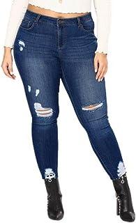 ce211de6866e Amazon.es: pantalones rotos mujer: Ropa