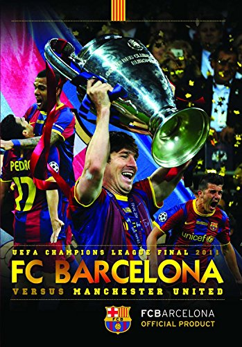 UEFA Champions League Final 2011 FC Barcelona 3 Manchester United 1 [DVD]...