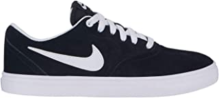Official Nike SB Check Solarsoft Trainers Womens Black/White Athleisure Sneakers Shoes