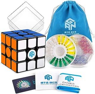 Coogam GAN 356 X Speed Cube 3x3 Gans 356X Magnetic Puzzle Cube Gan356 X 3x3x3 M Black ( IPG V5 Version )