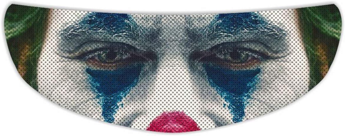 Joker Universal Perforated Motorcycle Helmet Shield Visor Chicago Mall Max 46% OFF Tint S