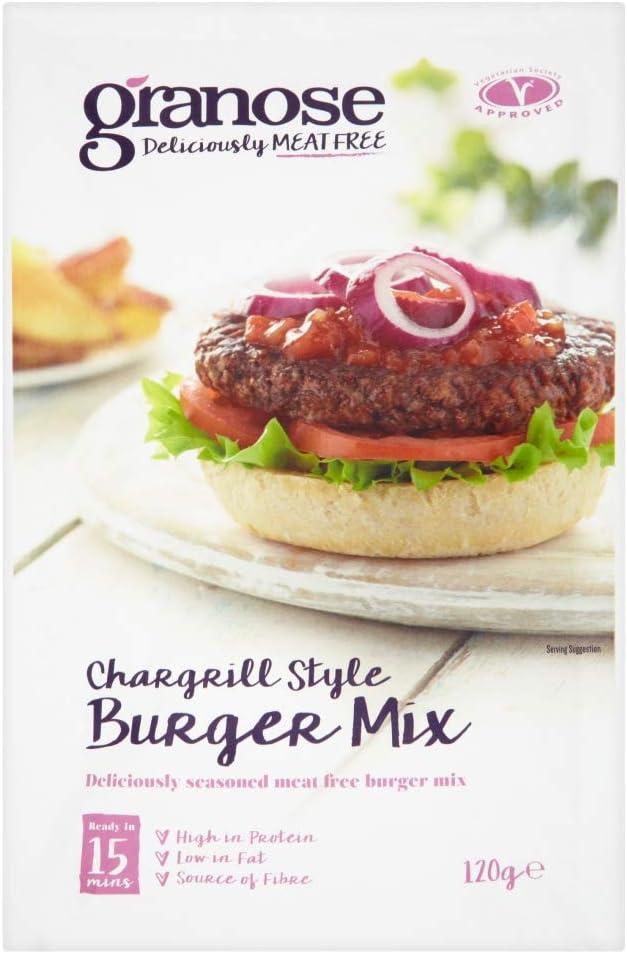 Granose Deliciosamente sin carne Mezcla de hamburguesas