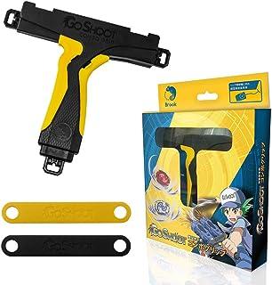 Brook Duo Handle, GoShoot Battle Dual Combo Grip Attack Handle–Yellow