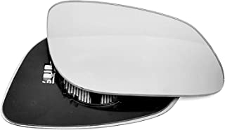 Driver right hand side wing door Blue mirror glass with backing plate #C-BN//R-BWE9005 Clip On