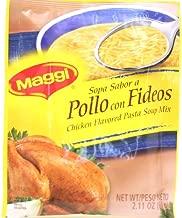 maggi sopa de pollo con fideos