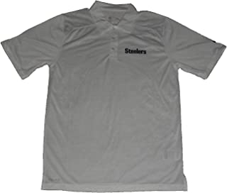 Nike Pittsburgh Steelers Coaches Sideline Performance DriFIT Golf Polo Small