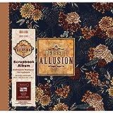 "First Edition Perfect Allusion - Floral Scrapbook Album 12""x12"""