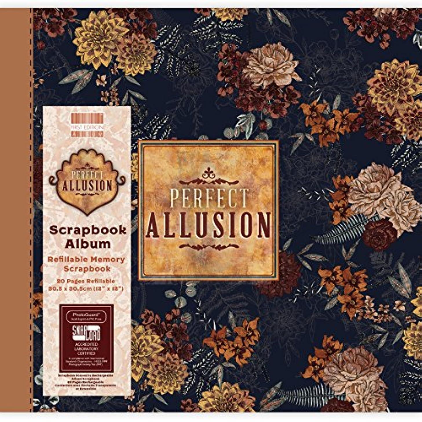 First Edition Perfect Allusion Floral Scrapbook Album 12