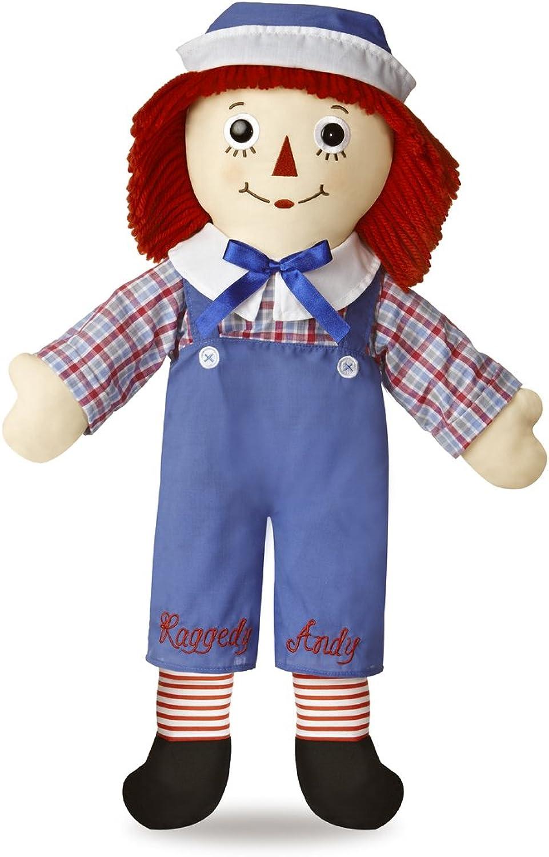 Raggedy Andy Classic Doll 25  by Auromere TOY (English Manual) B00847O6BK Einzigartig | Deutschland