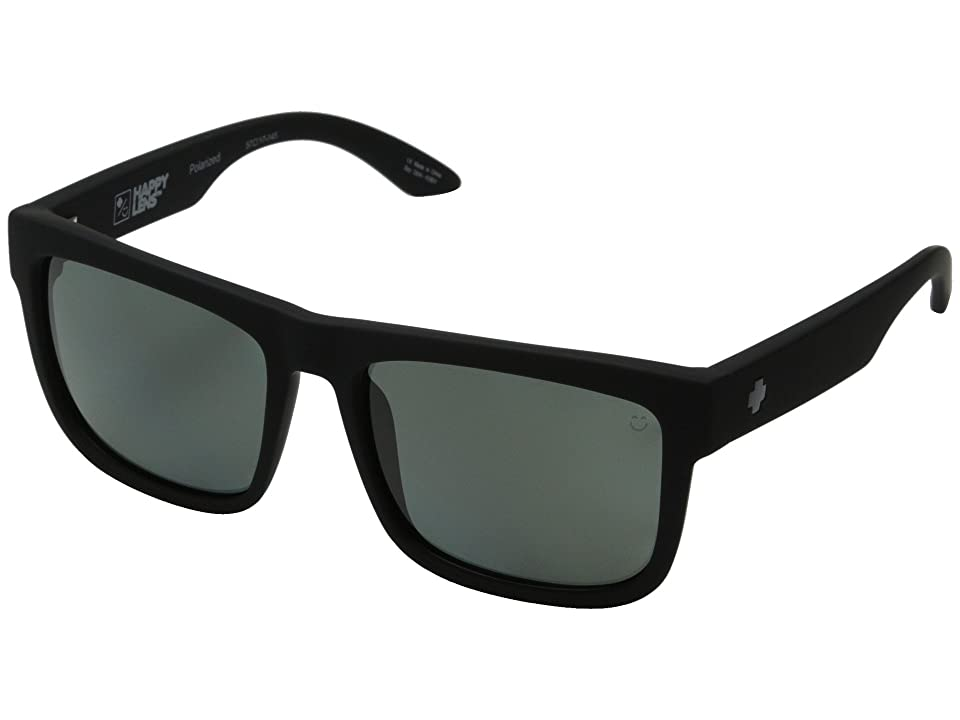 Spy Optic Discord (Soft Matte Black/Happy Gray Green Polar) Sport Sunglasses