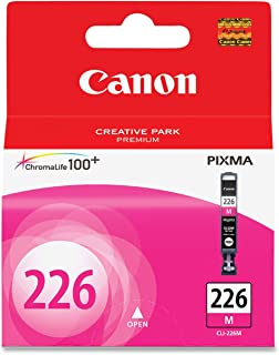 Canon CLI-226 Magenta Ink Tank Compatible to iP4820, MG5220, MG5120, MG8120, MG6120, MX882, iX6520, iP4920, MG5320, MG6220...