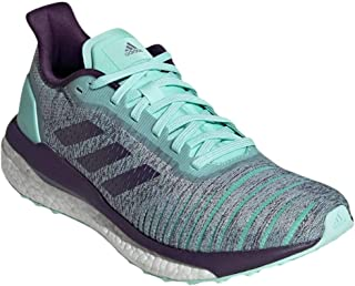 adidas Women's Solar Drive Running Shoes Clear Mint/Legend Purple/Active Purple