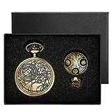 Yisuya, orologio da tasca Doctor Who stile retrò, vintage, color...