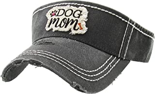 Funky Junque Womens Baseball Cap High Ponytail Bun Half Visor Adjustable Athletic Hat