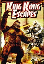 Best king kong escapes 1967 Reviews
