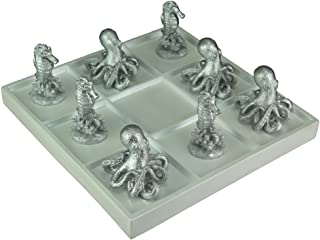 Octopus and Seahorses 8 Piece Game and Board Tabletop Decor