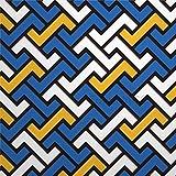 daoyiqi Juego de adhesivos decorativos para azulejos, diseño contemporáneo de espiga de espiga de 40,6 x 40,6 cm, vinilo resistente al agua, 12 unidades