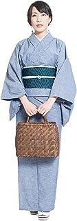 久留米織着物 洗える着物 お仕立て上がり 着物 単衣 レディース