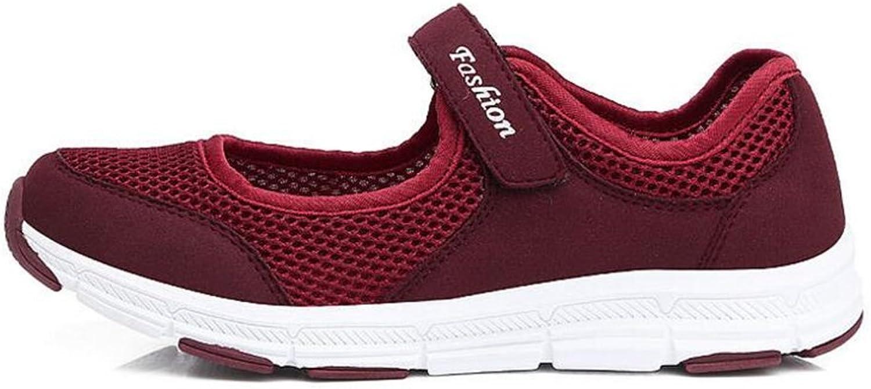 MODEOK Walking Running shoes, Women's shoes, mesh Sneakers, Rocking shoes