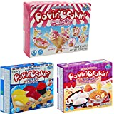Kracie Popin' Cookin' Diy Candy for Kids,,- 3 Pack Varieties Sushi, Ramen, and Cake Kit by Unha's Asian Snack Box