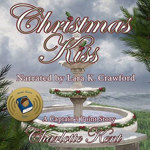 A Christmas Kiss  audiobook cover art