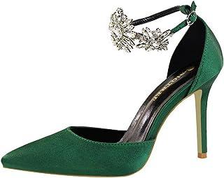 3c392d634cc0 ALUK- Scarpe da donna - Scarpe con tacchi alti Scarpe con strass Sandali Scarpe  da