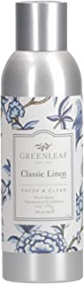 GREENLEAF Air Freshener Room Spray - Classsic Linen - Made in The USA