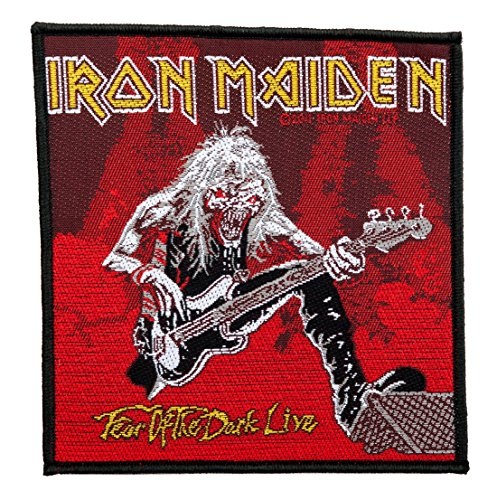Iron Maiden Fear Of The Dark Live Sew On Clothing Patch Badge Fan 100% Official by Unbekannt