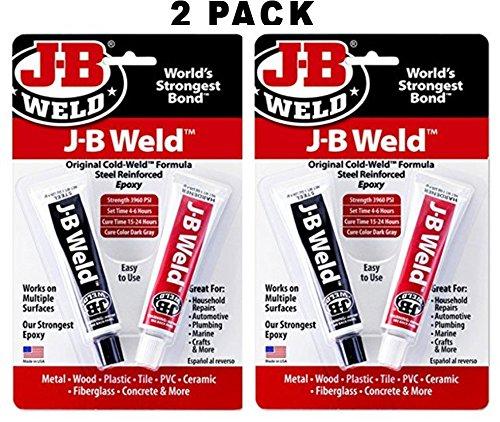 J-B Weld 8265S Kaltschweiß Stahlverstärktes Epoxid mit Härter, 57 g