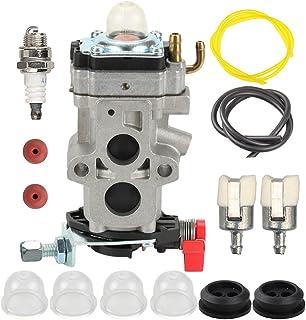 Butom WYA-44 Carburetor with Fuel Line Filter Check Valve for RedMax EBZ8000 EBZ8000RH EBZ8001 EBZ8001RH EBZ8050 EBZ8050RH EBZ8500 EBZ8500RH EBZ7001 EBZ7001RH EBZ7001CA EBZ7001RHCA Leaf Blower