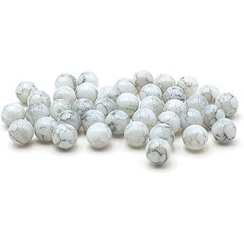 Glasperlen weiß glänzend 4 mm 210 Stück  Schmuck Perlen Basteln KB172